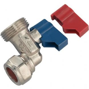 Washing machine angle valve
